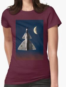 SAAB Viggen and The Moon T-Shirt