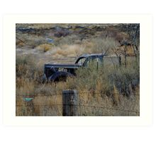 Budville NM and Its Ghosts Art Print