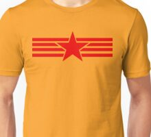 Russia Catalonia communist flag red star Unisex T-Shirt
