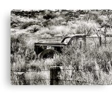 Route 66 Relic in Budville, NM Metal Print