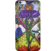 Treepose tarot style in color iPhone Case/Skin
