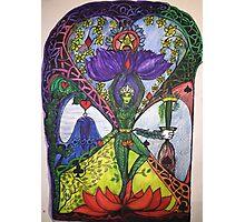 Treepose tarot style in color Photographic Print