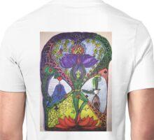Treepose tarot style in color Unisex T-Shirt