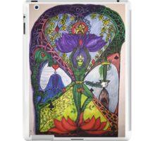 Treepose tarot style in color iPad Case/Skin