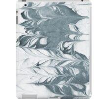 Haru - abstract spilled ink painting minimal indigo inky splash swirl ocean waves water surfing map maps iPad Case/Skin