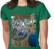 CHRISTMAS GREETINGS Womens Fitted T-Shirt