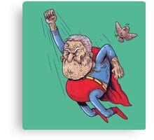 old superman Canvas Print