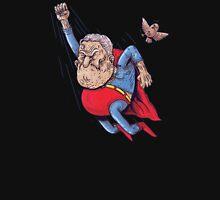 old superman Zipped Hoodie