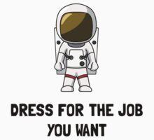 Astronaut Dress Baby Tee