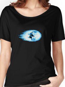Street Fighter Hadouken Fireball pixel pattern Women's Relaxed Fit T-Shirt