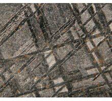 Iron Meteorite Widmanstätten pattern Sticker