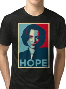 DANA SCULLY HOPE Tri-blend T-Shirt
