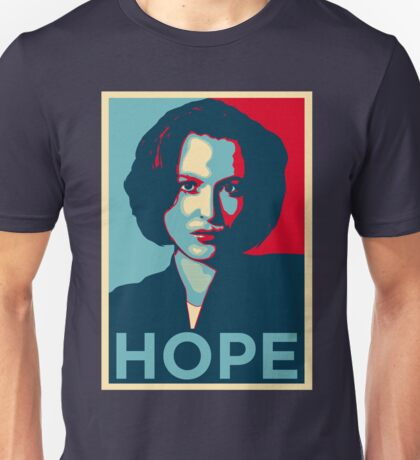 DANA SCULLY HOPE Unisex T-Shirt