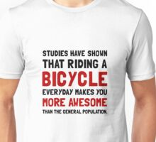 Bicycle More Awesome Unisex T-Shirt