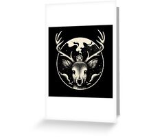 Deer Home Greeting Card