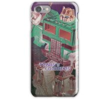 G1 Transformers Poster iPhone Case/Skin