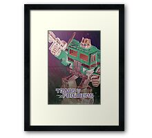 G1 Transformers Poster Framed Print