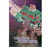 G1 Transformers Poster Photographic Print