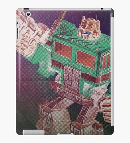G1 Transformers Poster iPad Case/Skin