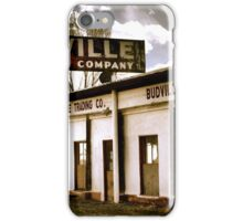 Budville NM ~ Route 66 New Mexico iPhone Case/Skin