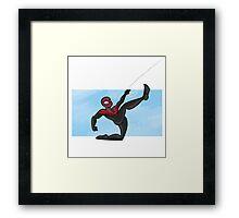 Spider-man- miles morales Framed Print