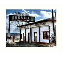 Budville ~ A Relic in Color ~ Route 66 Art Print