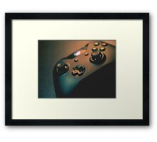 XBOX One Controller Top View Framed Print