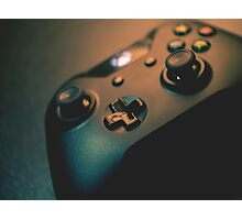 XBOX One Controller Top View Photographic Print