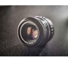 Minolta 50mm F1.7 Camera Lens Photographic Print