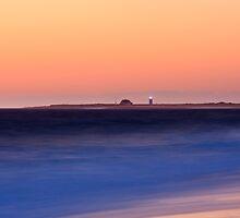 Race Point Lighthouse from Herring Cove, Cape Cod National Seashore, Massachusetts by Daniel Arthur Brown