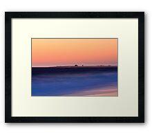 Race Point Lighthouse from Herring Cove, Cape Cod National Seashore, Massachusetts Framed Print