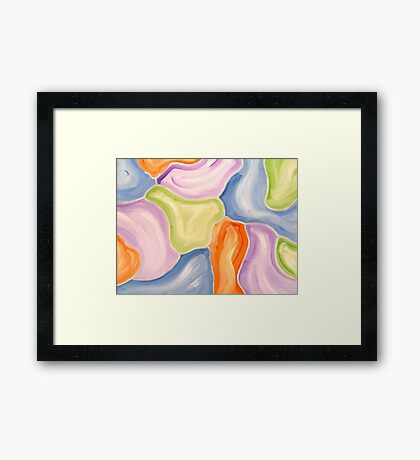 ABSTRACT 478 Framed Print