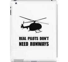 Helicopter Pilot Runways iPad Case/Skin