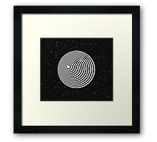 Twilight Zone Tunnel Framed Print