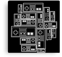 8-Bit Player Canvas Print