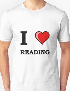 I Heart Reading Unisex T-Shirt