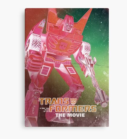 G1 Transformers Movie Poster Canvas Print
