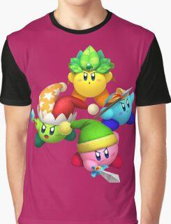 KRTDL FourKirbys Graphic T-Shirt