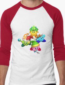 KRTDL FourKirbys Men's Baseball ¾ T-Shirt
