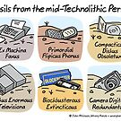 Technolithic fossils by WrongHands