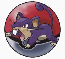Rattata pokeball - pokemon by pokofu13