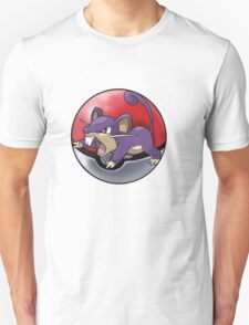 Rattata pokeball - pokemon T-Shirt