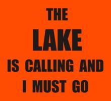 Lake Calling Kids Tee