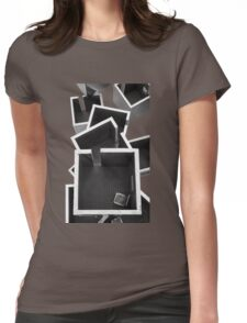 Little Boxes V Womens Fitted T-Shirt