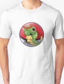 Caterpie pokeball - pokemon T-Shirt
