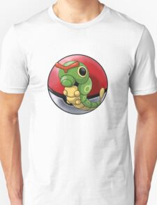 Caterpie pokeball - pokemon T-Shirt