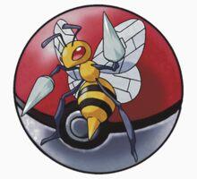 Beedrill pokeball - pokemon by pokofu13
