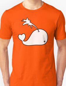 Cartoon Whale Unisex T-Shirt