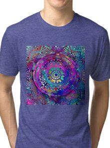 Goddess mandala Tri-blend T-Shirt