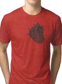 Art Heart (Black&White) Tri-blend T-Shirt